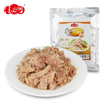 Pouch Tuna Chunks and Flakes