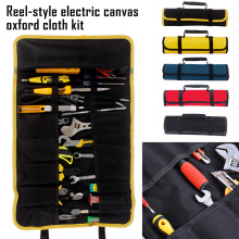 NEW Multifunction Tool Bags Oxford Canvas Handles Roller Bags Reel Large Capacity Utility Tools Kit Instrument Case