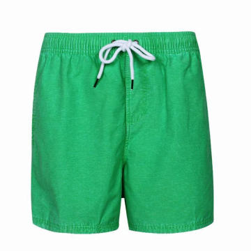 Green quick dry athletic mens shorts swimwear short