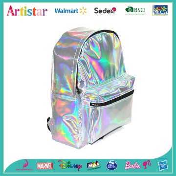 white laser backpack