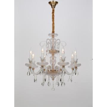 European Style Living Room Elegant Crystal Chandelier
