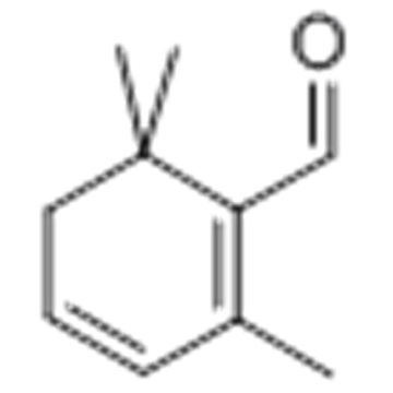 1,3-Cyclohexadiene-1-carboxaldehyde,2,6,6-trimethyl- CAS 116-26-7