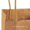 Kraft Paper Twist Handle Promotional Gift paper Bag
