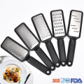stainless steel vegetable garlic grater with plastic handle