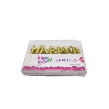 Alphabet Letters Shaped Birthday Candles Wholesale