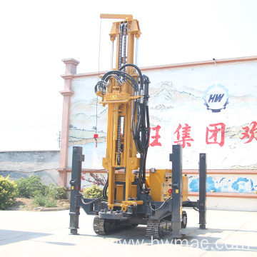 DTH Water Well Drilling Rig For Rock Geology