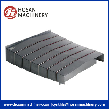 steel cnc machine flexible accordion bellows