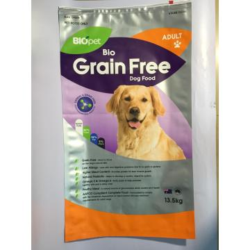 Custom Printed Pet Food Pouches with Zip lock