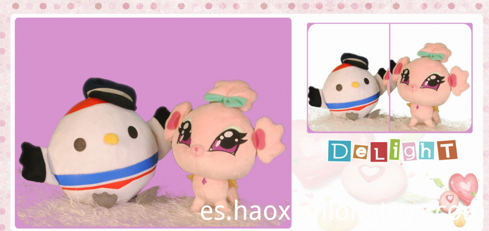 Mini cute cartoon plush toys