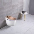 One Piece Intelligent Water Rose gold Smart Toilet