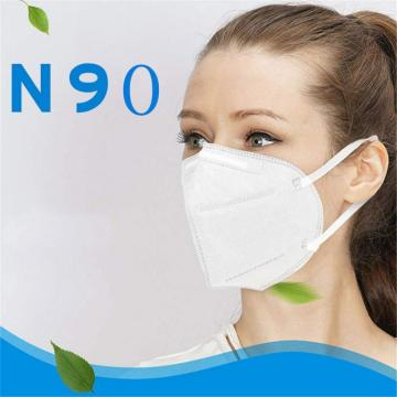 KN90 Mouth Mask, High Filtration Barrier, Disposable Air Filter Masks Against Virus, Dust, Pollen, Bacteria, Allergies, Paint