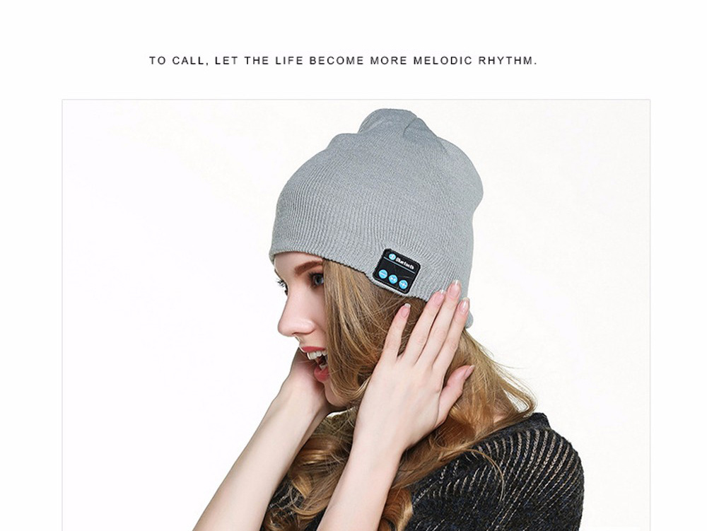 Warm Wireless Earphone Music Beanie Hat Headphone