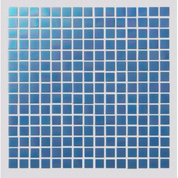 Blue Watercolor Creative Art Mosaic Tiles For Bathroom