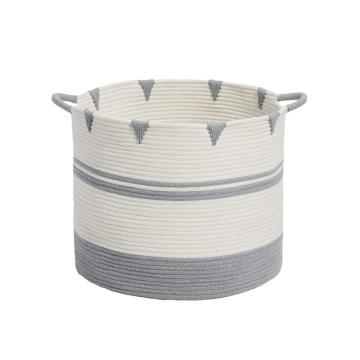 Large Basket With Handles For Nursery