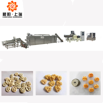 Corn puff snack extruder food machine