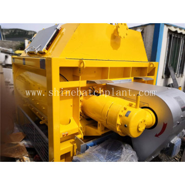 Twin Shaft Horizontal Concrete Mixer