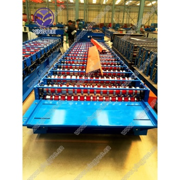 Galvanized corrugated roof sheet forming machine