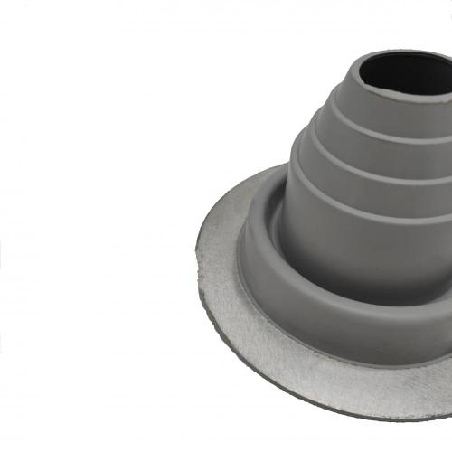 Weather Resistant Round EPDM/Silicone Aluminum Pipe Boot