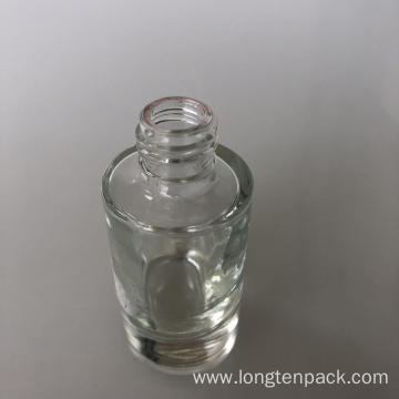 20ml column heavy glass bottle