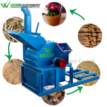 WEIWEI sawdust packing machine oak tree wood chipper