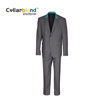 Gray reception hotel restaurant manager uniform suits