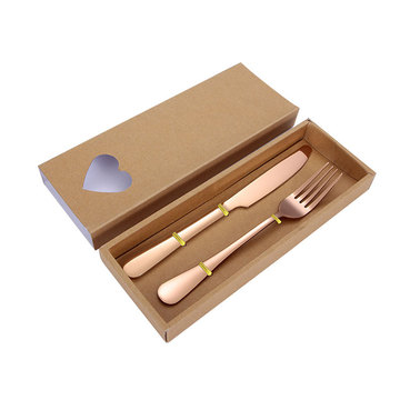 Multi-colored Hotel Luxury Vintage Stainless Cutlery Set