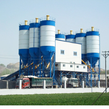 Best selling durable HZS240 concrete batching plant