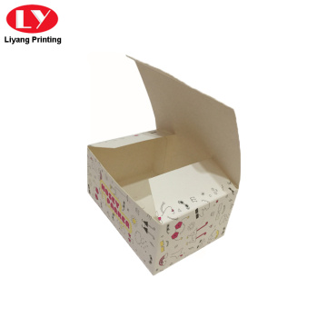 Кайра иштетилген Die Cutting Paper Folding Packaging Box