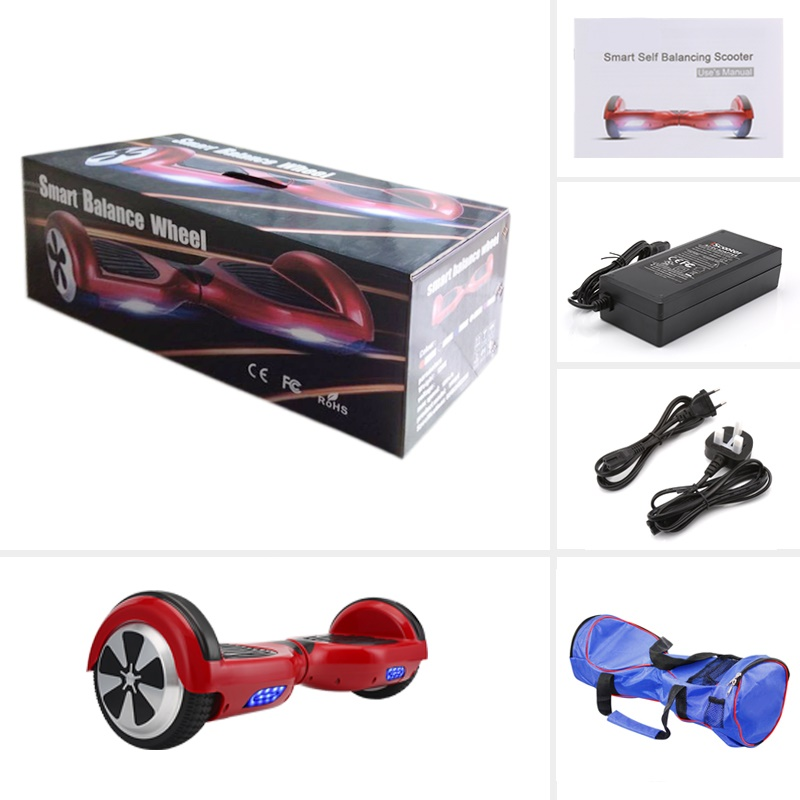 "6.5"" Two Wheels Self Balance Electric Scooter Skateboard"