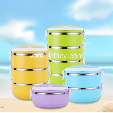 304 Multi Layer Heat Preservation Lunch Box