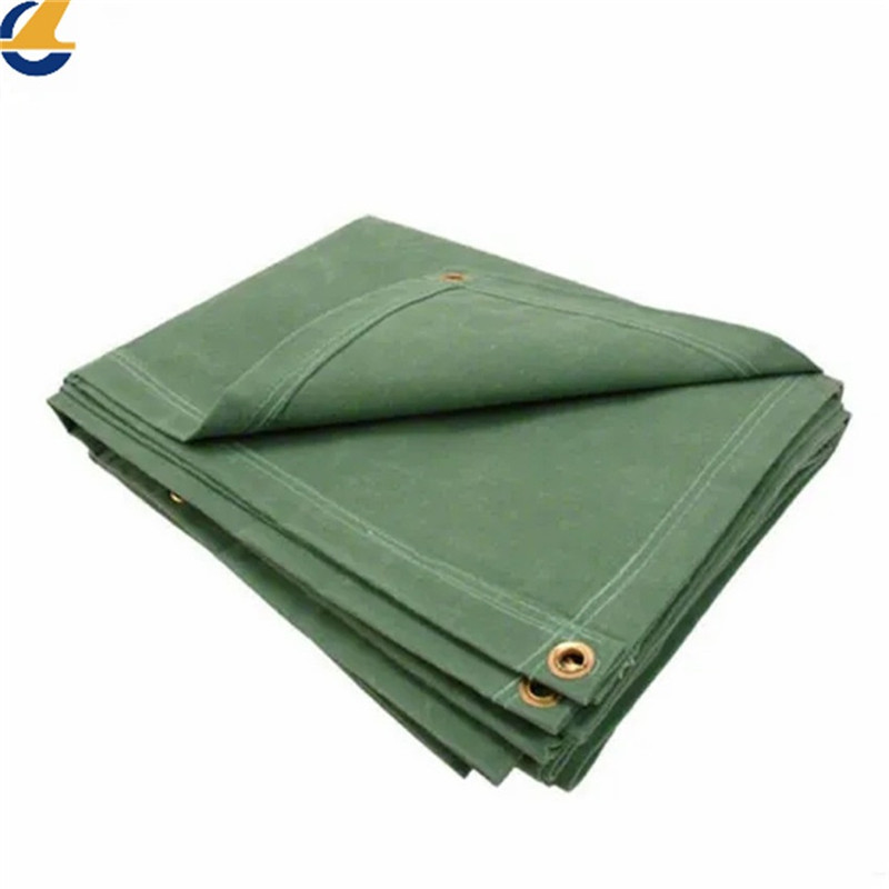Cotton canvas tarps