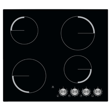 UK Zanussi Electric Hob Knobs 60cm