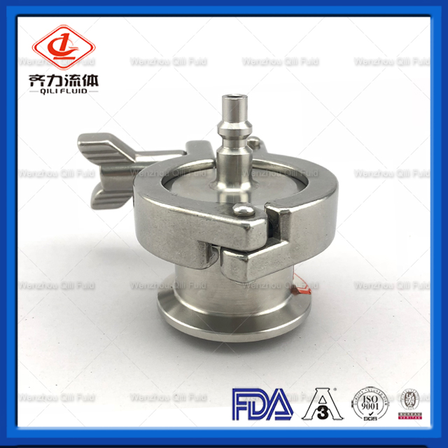 Stainless Steel Air Blow Check Valve Quick-Connect Plug