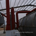 Lanning waste tires pyrolysis machines