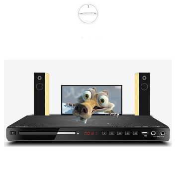 36*21*3.3cm 10W DVD Player 5.1 Channel Home EVD Player USB Card Reader HD VCD Children Portable CD Player Full Format