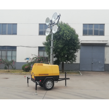 4000w Metal halide Lamp Portable Light Tower