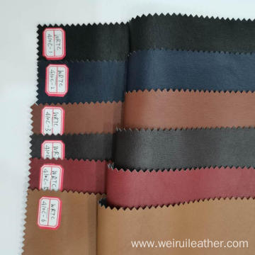 Retro PU  Artificial Leather Fabric