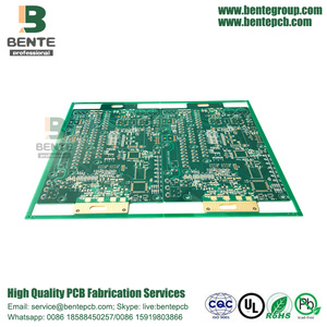 FR4 Tg150 Multilayer PCB 6 Layers PCB ENIG 3u""