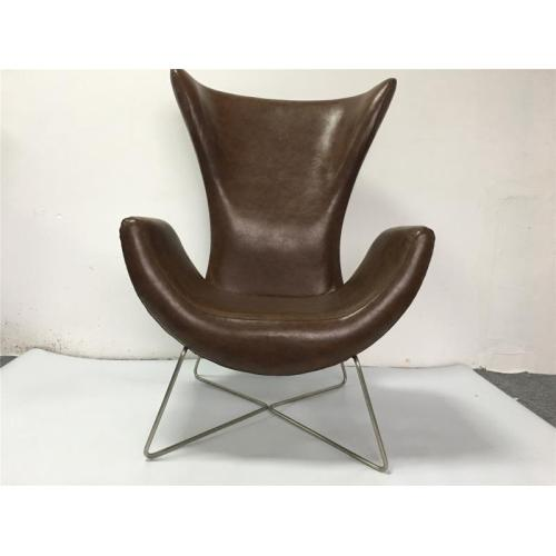 high-back sofa chair with metal legs cheap microfiber