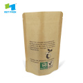 Kraft Paper Compostable Biodegradable Bags With Window