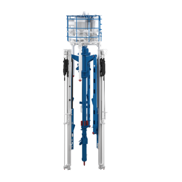 Flexible Shaft Use Hydraulic Drilling Rig