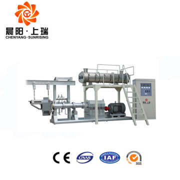 Pet snack extruder dog feed production line
