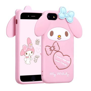 Custom Kawaii Unique Silicone Cartoon 3D Phone Case
