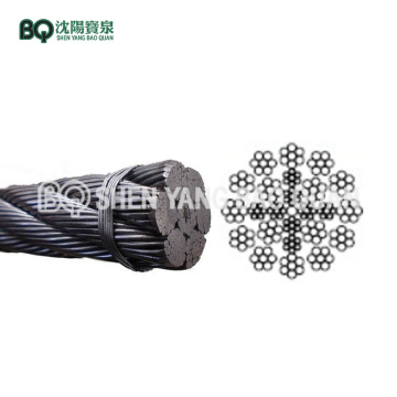 24×7 16mm Wire Rope for Tower Crane