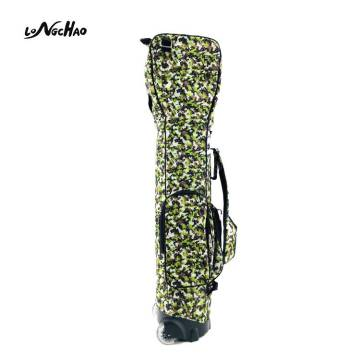 New style Military Camouflage Custom LOGO Design your own Golf Bag Waterproof Man Golf Bag Wheel