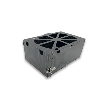Lightweight Carbon Fiber Drone Battery Putting Box