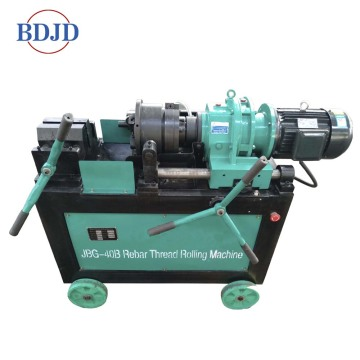 Construction use machinery rebar thread rolling machine