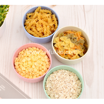 Healthy 4 Pairs Wheat Straw Bowls
