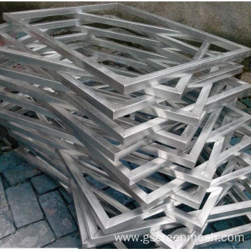 High qualityscreen printing aluminum frame