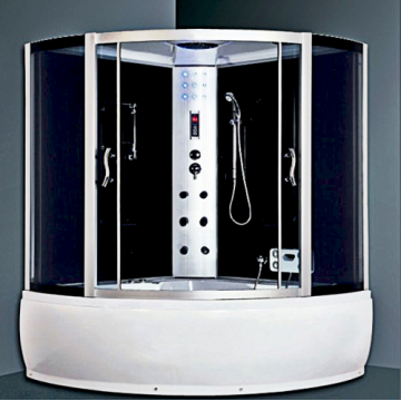 Luxury Black Bath Steam Shower Room